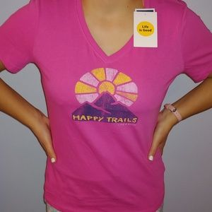 Life is Good Tee - Small NWT